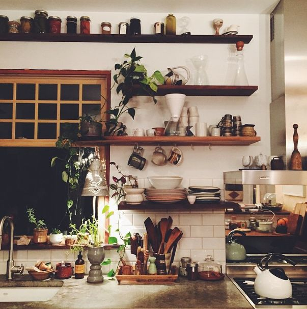 Beautiful Bohemian Kitchen decor