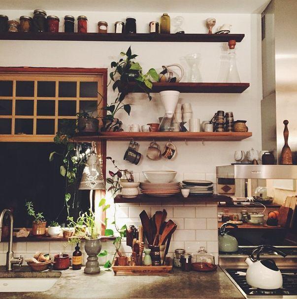 Beautiful Bohemian Kitchen decor