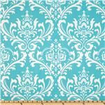 Fabric panel: Turquoise Pattern