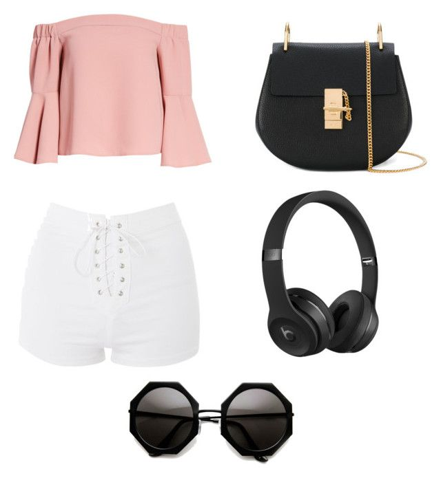 """Untitled #97"" by anais-maria on Polyvore featuring Topshop, Chloé and Beats by Dr. Dre"