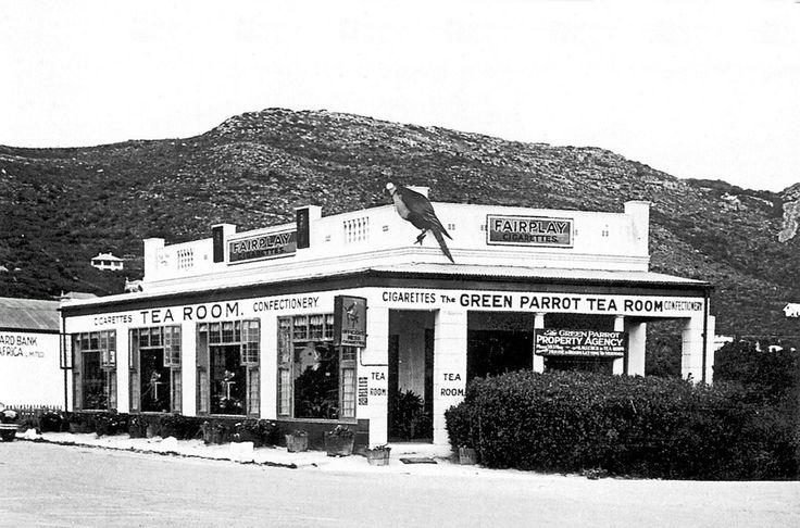 The Green Parrot Tea Room, Main Road, Fish Hoek | Flickr - Photo Sharing!