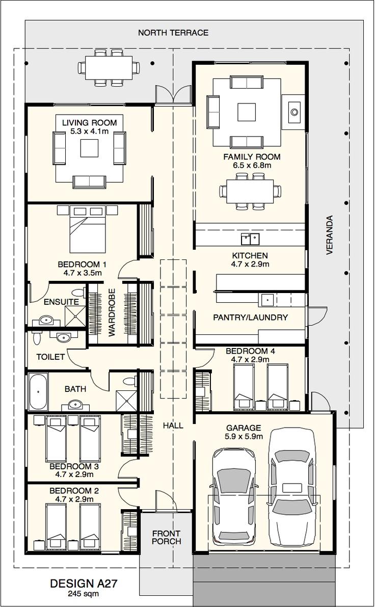 36 best plans maison images on pinterest dream house plans