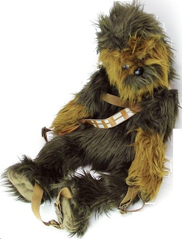 Star Wars - Chewbacca Plush Buddies BackPack by Comic Images - TV / Movie - Star Wars - Plush - Popcultcha