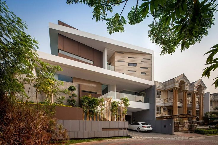 Opulent Home in Jakarta Plays With Shapes, Textures