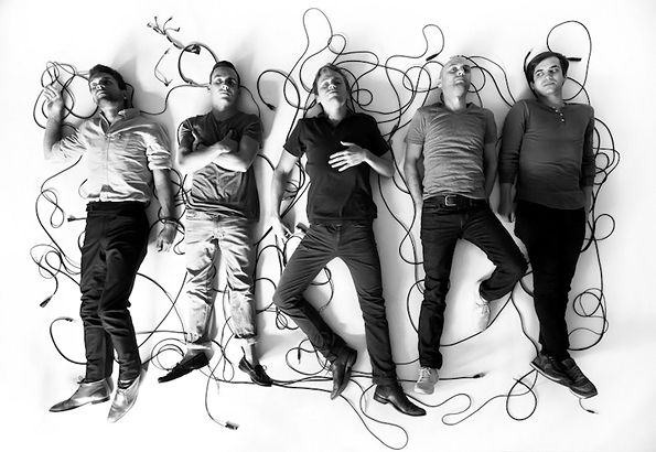 Love this band promo photo.