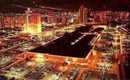 Ala Moana Shopping Center at Night