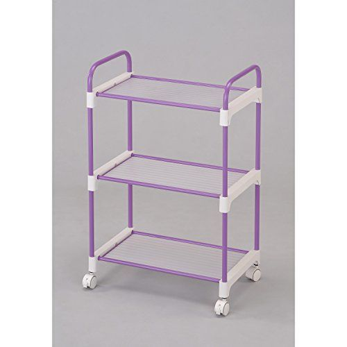 Special Offers - ORE International NPU-1002 3-Tier Utility Cart Purple - In stock & Free Shipping. You can save more money! Check It (May 08 2016 at 12:28PM) >> http://jewelryarmoireusa.net/ore-international-npu-1002-3-tier-utility-cart-purple/