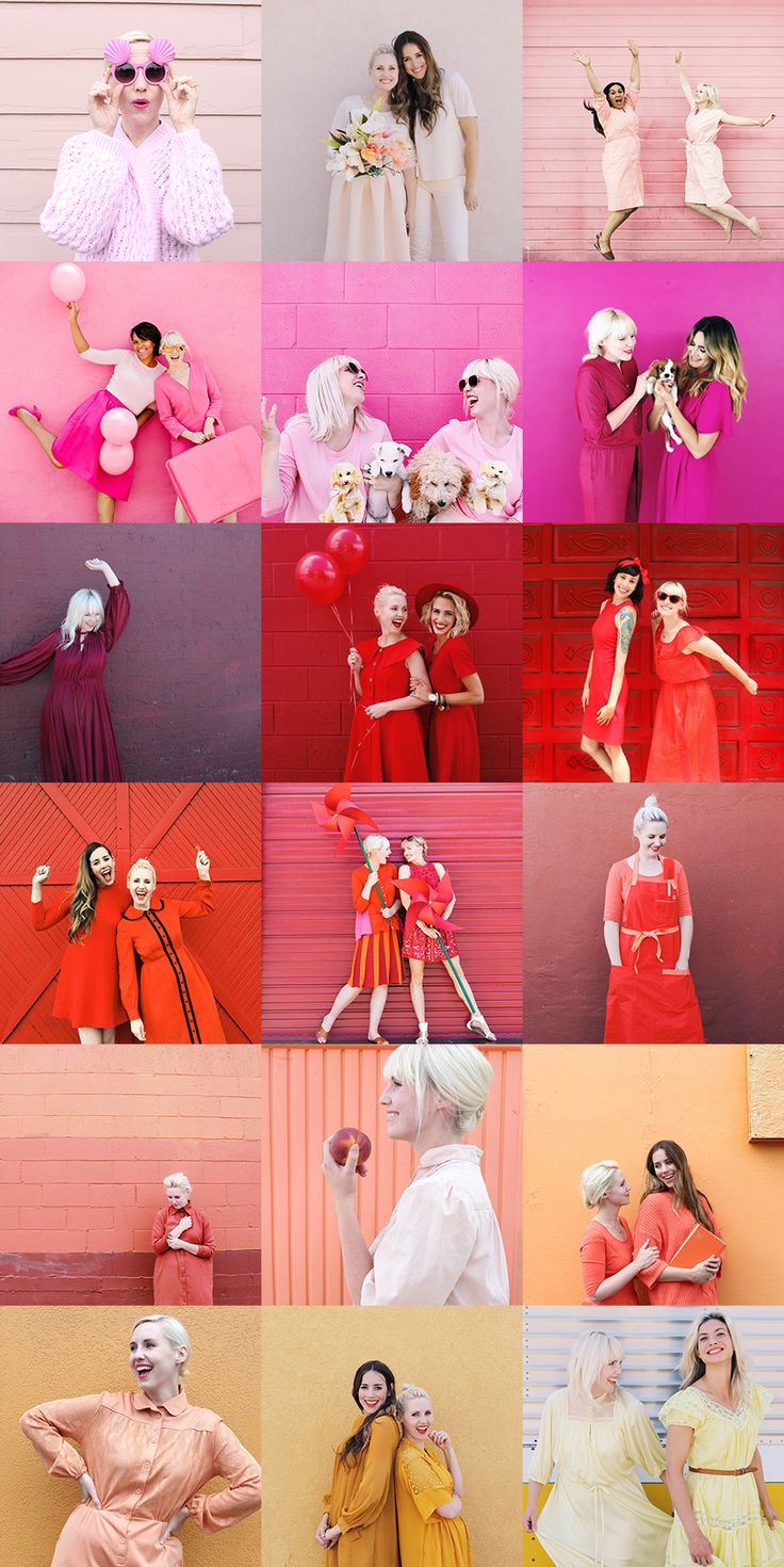 The first 18 days of Dress the Rainbow