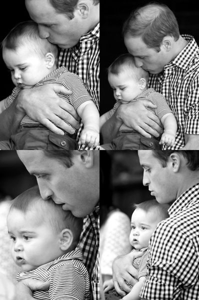 Father and Son, William and George <3