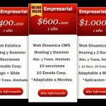 Diseño Web, páginas web adaptables a dispositivos móviles...