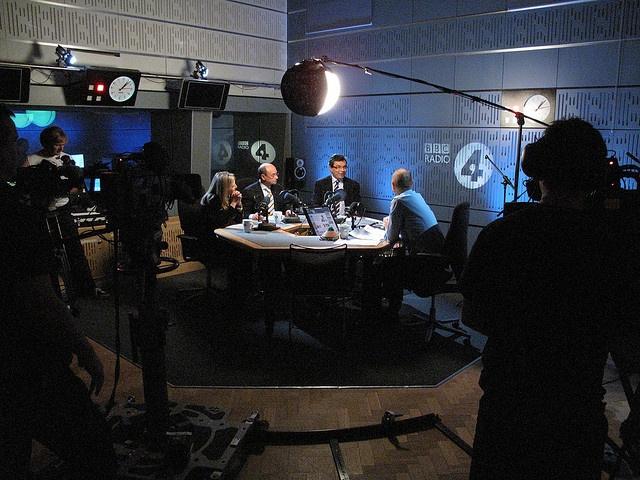 The Bottom Line studio.