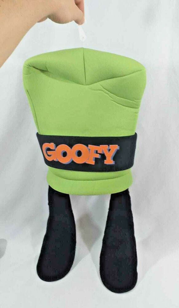 Disney Parks 23 Green Goofy Hat With Plush Soft Long Dog Ears Disneyland Cap Disneyparks Disney Parks Goofy Hats