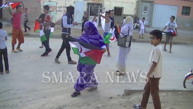 Western Sahara and the world: Intifada activists in Occupied Smara denounce the ...