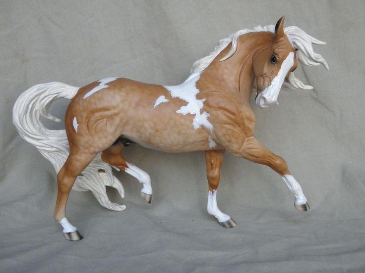 Breyer Horse Statue OOAK CM/Custom Esprit Andalusian Dappled Palomino Pinto
