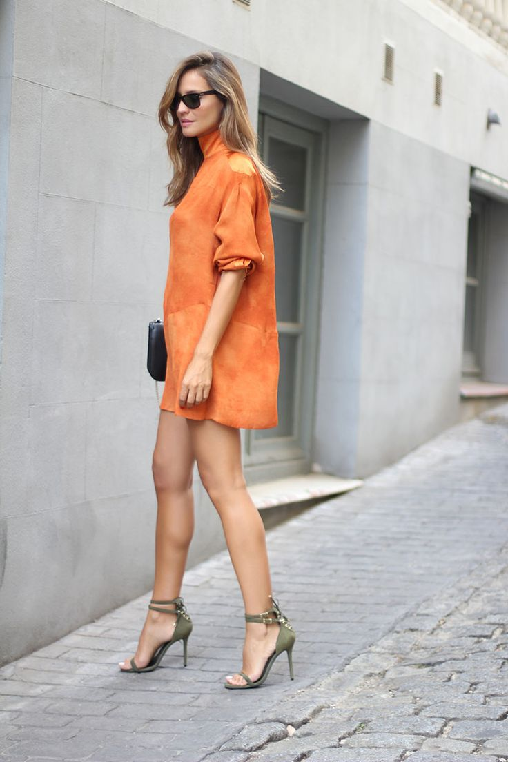 Little Sienna Dress & Statement Sandal heels.