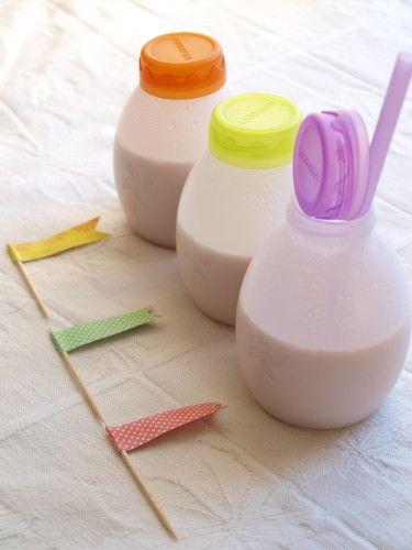 En général, j'essais de rester discrète sur mes enfants . Mais là comme ça parle de cuisine, je fait une petite entorse à la règle ! Mon aîné a 5 ans et demi, il ne boit quasiment plus de lait depuis ces deux ou trois ans, donc pour qu'il ai les apports...
