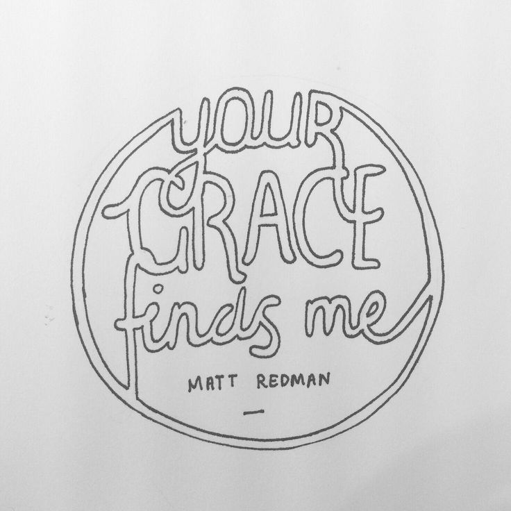 Hand lettering doodle by Senzo Xulu, Boomtown Strategic Brand Agency. #grace