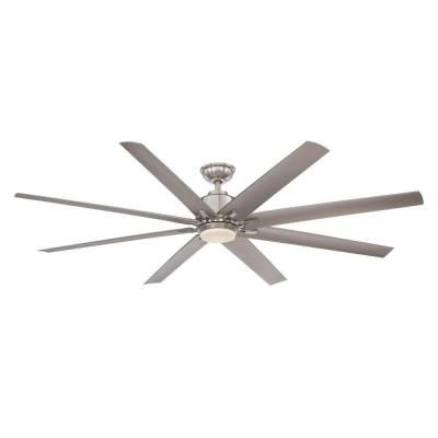 Home Decorators Collection Kensgrove 72 In LED Brushed