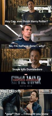 Why Marvel's Civil War Movie Shouldn't Be Anything Like The Comic >> THIS IS PERFECT