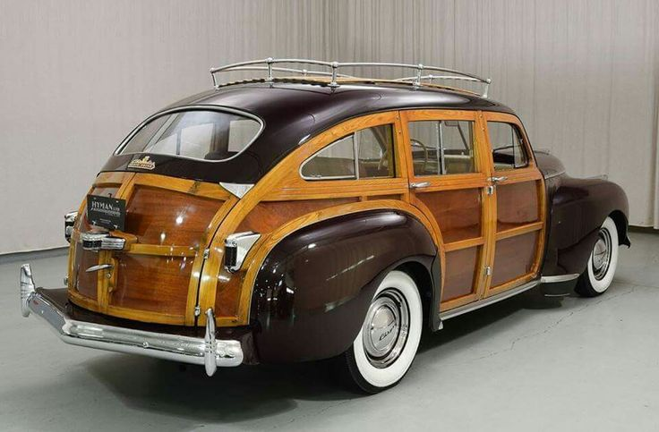 1941 Chrysler Town And Country Barrel Back