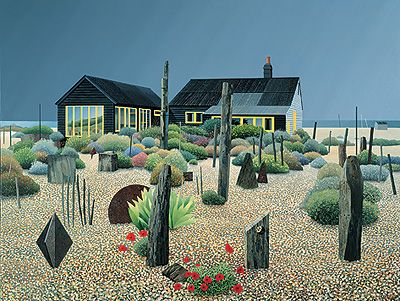 jardim do Derek Jarman por Michael Kidd