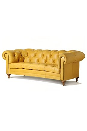 yellow love: who doesn't love a good yellow couch?