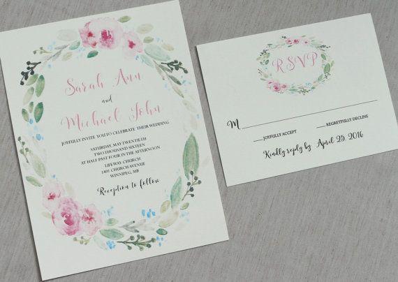 21 best images about wedding invites on pinterest for Garden wedding invitation designs