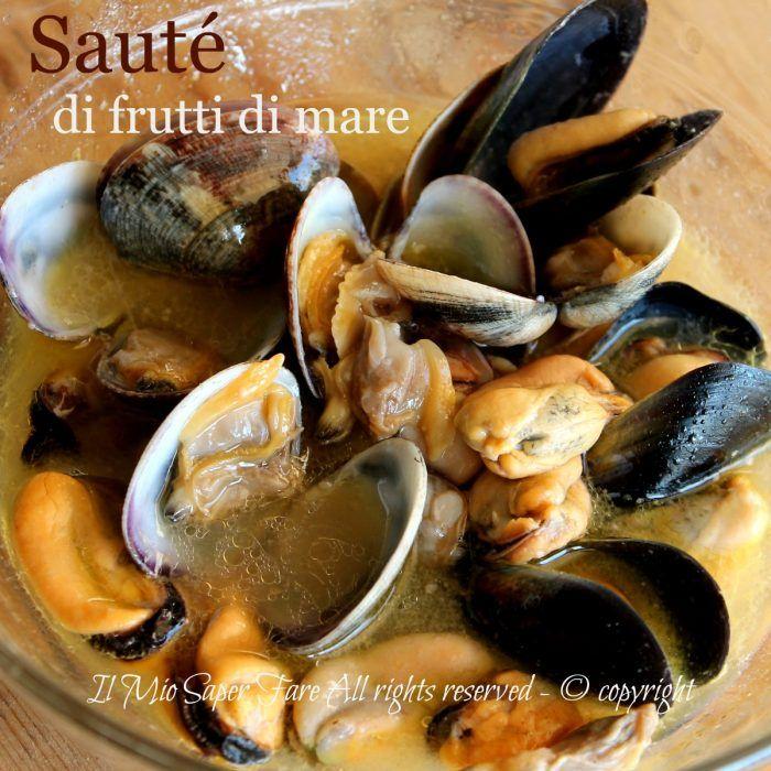Sauté di frutti di mare ricetta facile e veloce   Zuppa frutti di mare