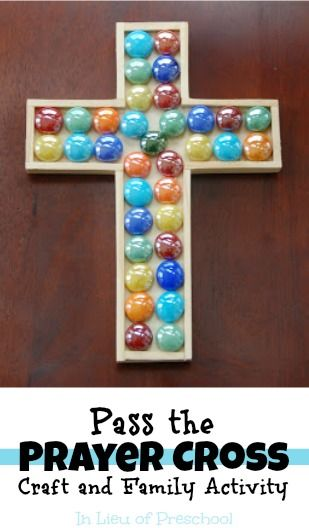Pass the Prayer Cross: craft and family activity -- great tradition to start during Easter!!