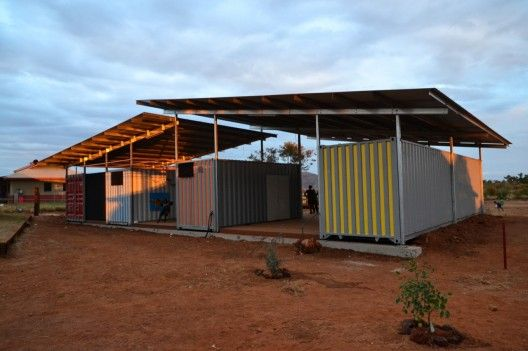 Masters students from the University of Melbourne's Faculty of Architecture, Building & Planning worked with the Gumala Aboriginal Corporation to build an early childhood learning center in the Pilbara region of Western Australia this past June.