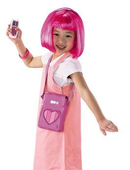 Lazy Town LazyTown Styling Stephanie Set Dressing up clothes for hours of fun! Pretend to be Lazy Town character, Stephanie with this styling set consisting of pink wig, headband, bracelets, mobile phone and magic motion sensor purse. Dance  http://www.comparestoreprices.co.uk/childs-toys/lazy-town-lazytown-styling-stephanie-set.asp