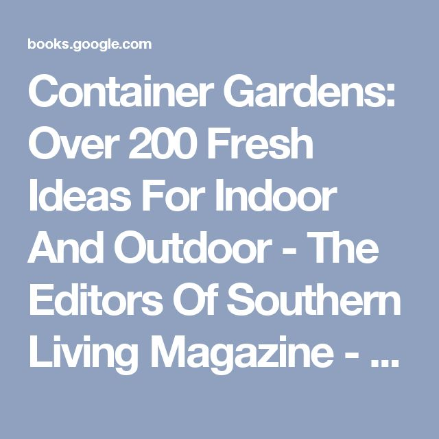 17 best ideas about southern living magazine on pinterest Southern living garden book