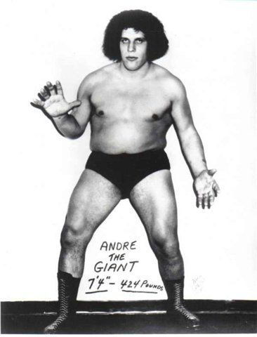 PROVING THAT SIZE DOES MATTER | WRESTLING LEGEND ANDRE THE GIANT « The Selvedge Yard