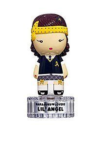 Harajuku Lovers Lil' Angel for Women Gift Set - 1.0 oz EDT Spray + 0.04 oz Solid Parfum by Gwen Stefani. $53.99. This Gift Set is 100% original.. Harajuku Lovers Lil' Angel is recommended for daytime or casual use. Gift Set - 1.0 oz EDT Spray + 0.04 oz Solid Parfum. Lil' Angel is a woman who is compassionate and caring towards others, but is no saint. She sports a classy, yet sexy, schoolgirl outfit complete with a plaid pleated miniskirt, white knee highs, and shiny blac...