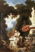 The Confession of Love 1771  by Jean-Honore Fragonard