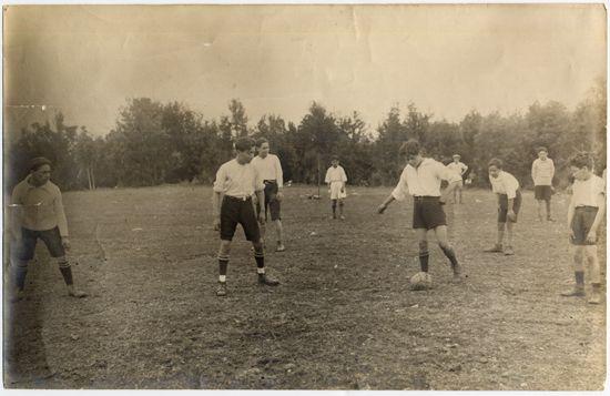Partido de fútbol, 1934