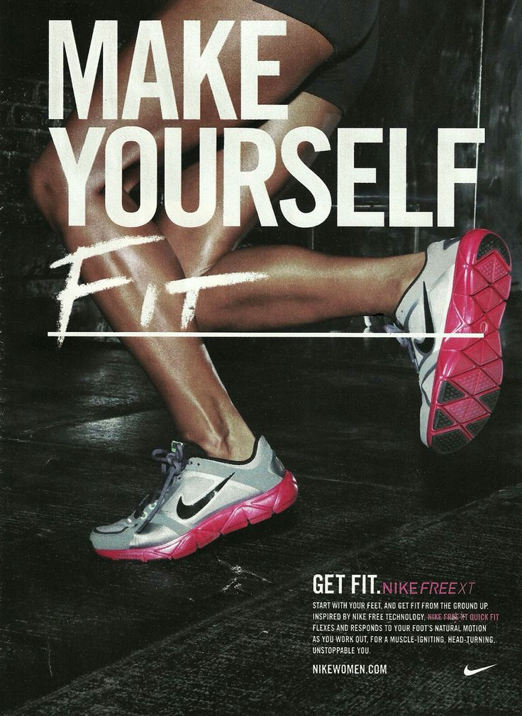 Nike Print Magazine Ads The BEST 46 Nike Advertisements
