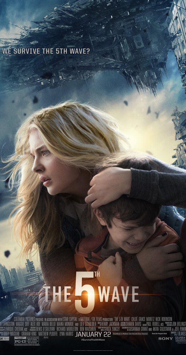 Directed by J Blakeson.  With Chloë Grace Moretz, Nick Robinson, Maika Monroe, Liev Schreiber. Four waves of increasingly deadly alien attacks have left most of Earth decimated. Cassie is on the run, desperately trying to save her younger brother.