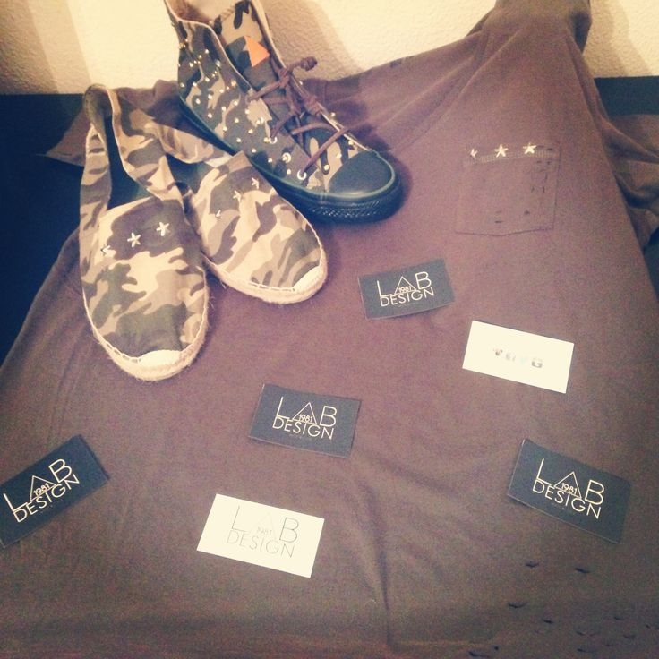 T-shirt, espadrillas & shoes CAMO MILITARY EDITION by labdesign