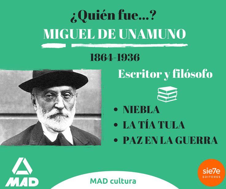 Quién fue Miguel de Unamuno