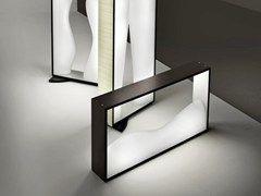 Laminate table lamp TABLO' LT - Vetreria Vistosi