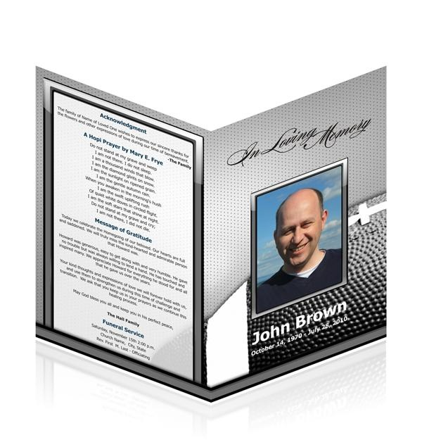 14 best Juanita cards images on Pinterest Funeral cards, Funeral - how to make a funeral program in word