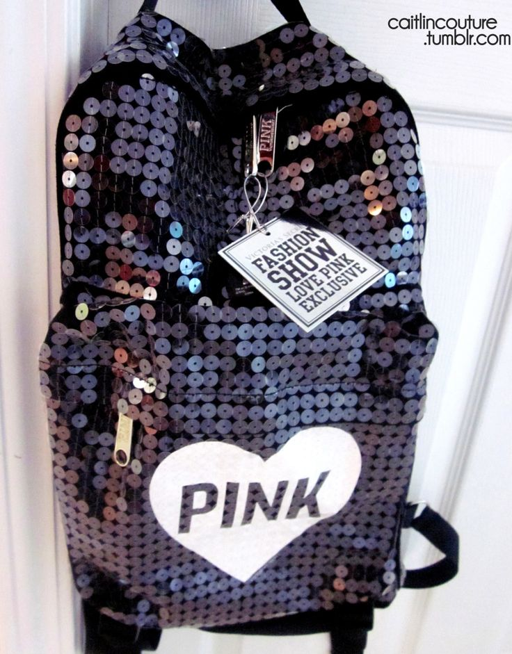 Brand: Pink Color: Black Print: Heart 'PINK'