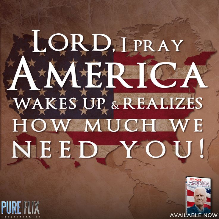 Encouragement - Pray for America -