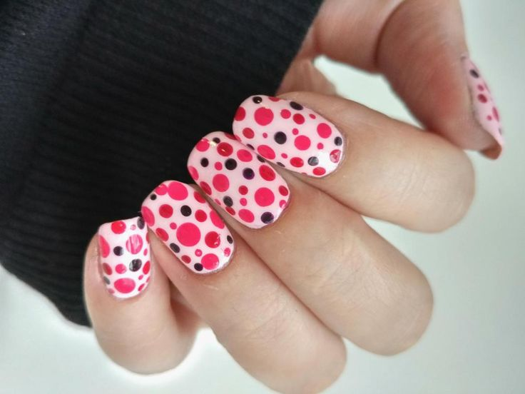 Pink Dotticure - if you have not guessed yet, my favorite color is pink..