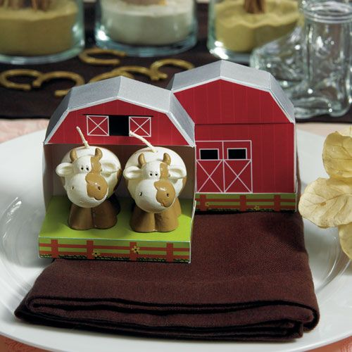 miniature-cow-candles-in-novelty-barn-gift-box-displayed-on-table-napkin