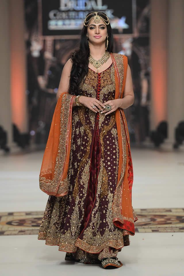 Awesome collection of  bridal couture week 2015 pakistan (5)