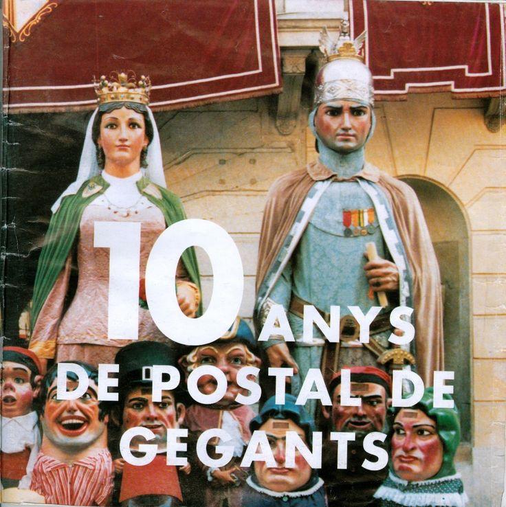 10 anys de postals de gegants : [catàleg de l'exposició] / [text: Jaume Calsapeu i Cantó].  Mataró : Patronat Municipal de Cultura, DL 1996