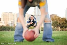 Sports engagement photos <3