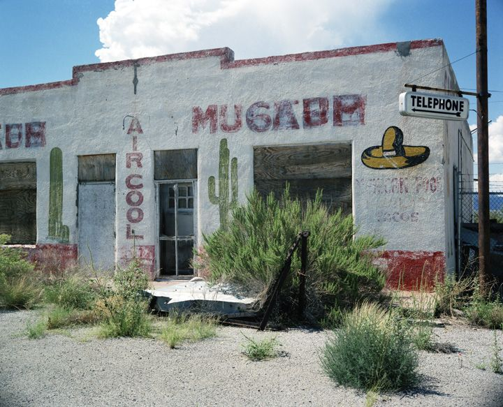 Abandoned Mexican restaurant | Millennium Images Library